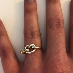 Tiffany & Co. Love Knot Ring - Size 4.5